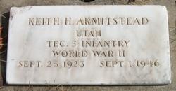 Keith Herbert Armitstead