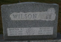 Martha K. Wilson