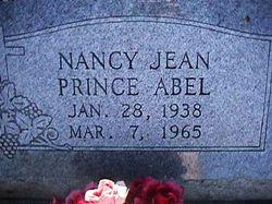 Nancy Jean <I>Prince</I> Abel