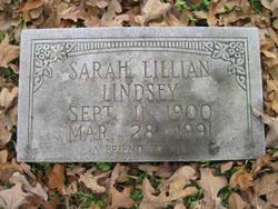 Sarah Lillian Lindsey