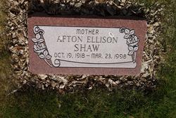 Afton <I>Ellison</I> Shaw