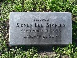 Sidney Lee Staples