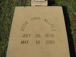 Addie Byrd <I>Long</I> Allred