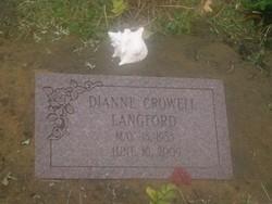 Diane <I>Crowell</I> Langford