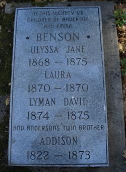 Addison Benson