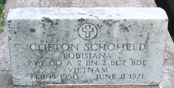 Pvt Clifton Schofield
