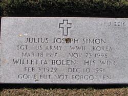 Willetta Bolen Simon