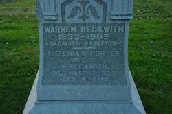 Luzenia Wallace <I>Porter</I> Beckwith