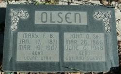 John Oscar Olsen, Sr