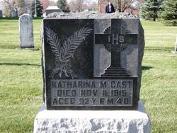 Katharina Maria <I>Hagedorn</I> Gast