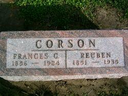 Frances Catherine <I>Helse</I> Corson