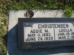 Addie Margaret <I>Moyer</I> Christensen