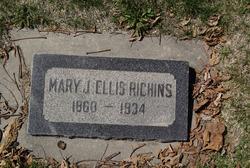 Mary Jane <I>Ellis</I> Richins