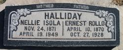 Ernest Rollo Halliday