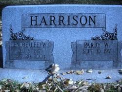 """Margaret Lenore """"Lee"""" <I>Williams</I> Harrison"""