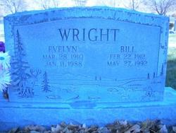 Evelyn Julia <I>Williams John</I> Wright