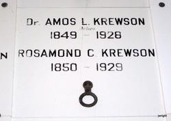 Dr Amos L. Krewson