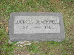 "Lucinda ""Dollie"" <I>Wickam</I> Blackwell"