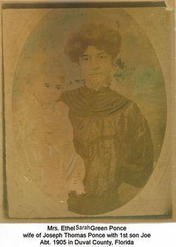 Ethel Sarah <I>Green</I> Ponce