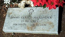 Jimmy Gerald Alexander