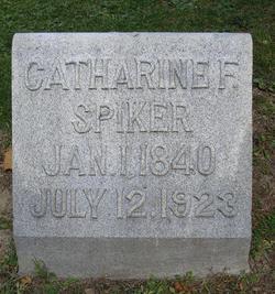 Catherine Frances <I>Casey</I> Spiker