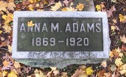 Anna M. Adams