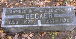 Eliza Irene <I>Harris</I> Becker