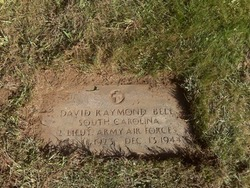 2LT David Raymond Bell