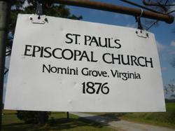 Saint Pauls Episcopal Cemetery