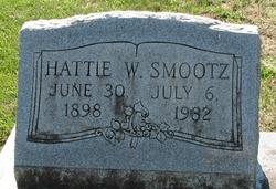 Hattie Ann <I>Wright</I> Smootz