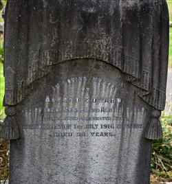 Capt Alfred Edward Bland