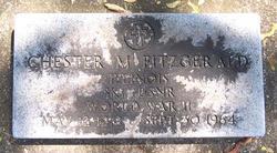 Chester M Fitzgerald