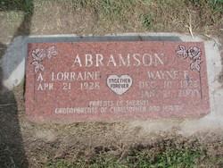 A. Lorraine Abramson