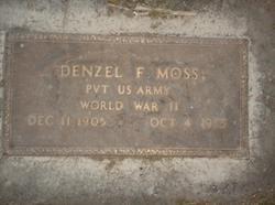 Denzel Fred Moss