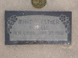 Martha Esther Tidwell