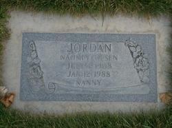 Naomi Vernie <I>Olsen</I> Jordan