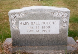 Mary Frances <I>Ball</I> Noechel