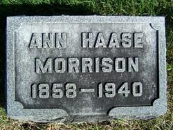 Ann <I>Haase</I> Morrison
