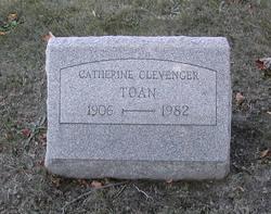 Catherine Gertrude <I>Clevenger</I> Toan