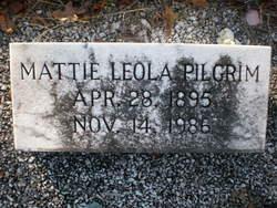 Mattie Leola <I>Beck</I> Pilgrim