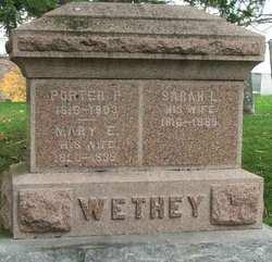 Sarah L <I>Stevenson</I> Wethey