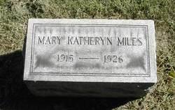 Mary Katherine Miles