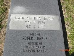 """Mathea """"THEA"""" Baker"""