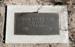 John Harper Nick