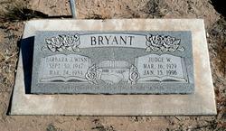 Barbara Jean <I>Winn</I> Bryant