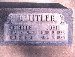 Catherine <I>Keller</I> Beutler