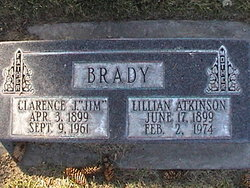 Lillian <I>Atkinson</I> Brady