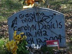 Carolyn Ann <I>Reeves</I> Daniels