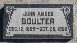 John Amber Boulter