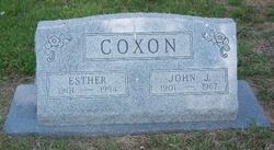 Esther <I>Stine</I> Coxon